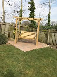 anchor fast devon swing arbour simply wood