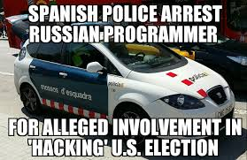 Russian Car Meme - russian programmer arrested for hacking u s election memenews