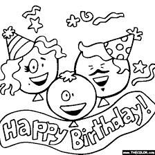coloring pages for birthday cards at best all coloring pages tips