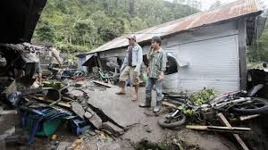 earthquake bali 2017 twelve killed by landslides in bali