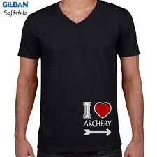 desain kaos archery jual kaos kaos cewek gildan i love archery print kaos v neck pria