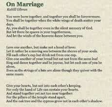 wedding wishes kahlil gibran way to silence a prophet ungrateful quotes wisdom