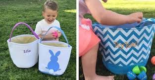 personalized easter buckets personalized easter buckets only 13 99 was 28 become a coupon