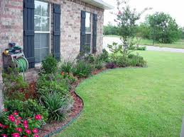Backyard Flower Bed Ideas Large Flower Bed Ideas