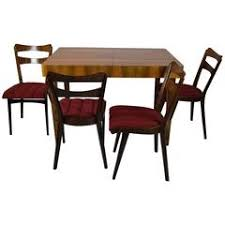 heywood wakefield dining room set with six chairs 1960s usa for