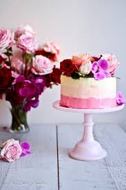ombre vanilla cake vegan nigella cake ideas