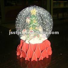 3d snow globe greeting cards china mainland artificial