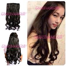harga hair clip curly hairclip 1 layer big layer hair clip murah hair clip extension
