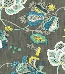 home decor print fabric richloom studio bach aquamarine joann