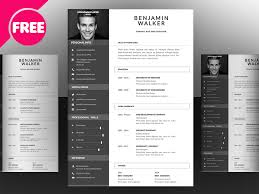 Infographic Resume Template Free Download Free Psd Clean And Infographic Resume Psd Template Free Psd