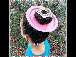 cool hair donut crazy hair day donut hair youtube