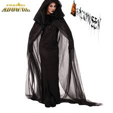 Womens Ghost Halloween Costumes Cheap Halloween Costumes Black Aliexpress