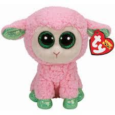 ty beanie boos leyla sheep lamb beanie boo