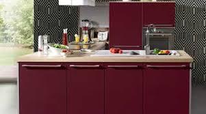 cuisine couleur bordeaux modele de cuisine bordeaux idée de modèle de cuisine