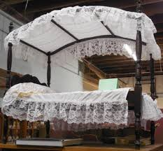 Mosquito Net Umbrella Canopy by Free Images White Vintage Antique Retro House Kid