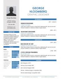Free Graphic Design Resume Templates by 17 Infographic Resume Templates Free