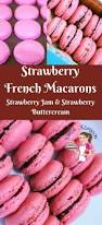 best 25 strawberry macarons recipe ideas on pinterest