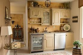 Neutral Colored Kitchens - glazing kitchen cabinets for a traditional kitchen with a neutral