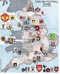 A Map Of England by Okay R Soccer I Want To Make A Teams Map For Your Sport But I