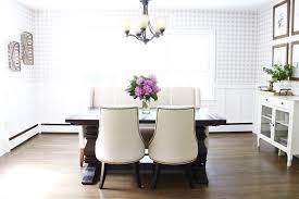 wallpaper for dining rooms southern flair dining room reveal darling do