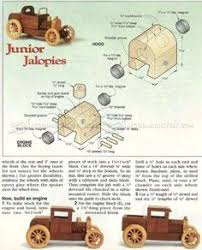 Woodworking Plans Toys by 1207 Wooden Roadster Plans Children U0027s Wooden Toy Plans And