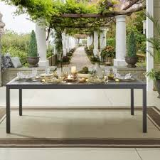 84 inch dining table matira metal outdoor 84 inch rectangular dining table inspire q