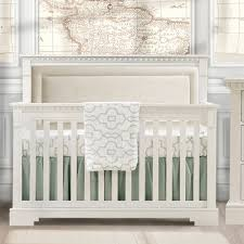 Crib White Convertible Ithaca Convertible Crib White With Talc Panel And Nursery