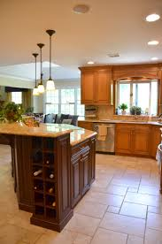built in kitchen islands alder wood driftwood glass panel door built in kitchen islands
