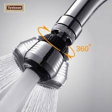 kitchen faucet adapters aliexpress buy kitchen faucet spout 360 rotate swivel water