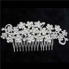 vintage hair combs aliexpress buy new feather shape austria wedding