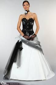 robe de mari e noir et blanc robe de mariée noir et blanc l habilleuse