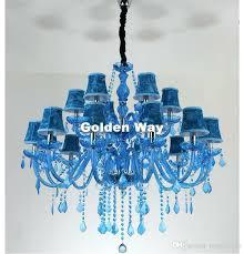 blue crystal chandelier light blue crystal chandeliers stylish blue crystal chandelier light blue