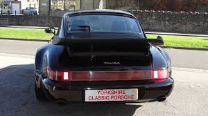 porsche turbo classic used porsche 911 turbo 964 turbo 3 3 for sale in leeds west