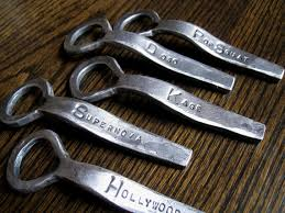 personalized bottle opener wedding favor 26 best forged custom bottle openers as groomsmen gifts