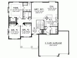 4 Bedroom Open Concept Floor Plans Shocking Ideas Open Floor Plans Blueprint 13 Greek Revival House