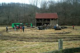 Barn Demolition Mark Bowe West Virginia Mountain Mama