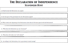 Declaration Of Independence Worksheet Answers All Worksheets Declaration Of Independence Worksheets