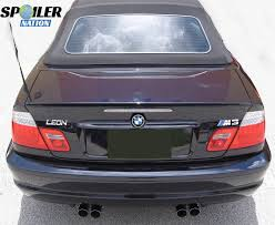 2000 2006 bmw 3 series convertible m3 style rear lip spoiler