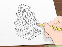 how to draw buildings 5 steps with pictures wikihow