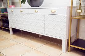 sideboard ikea transformation tuesday elle t interior design