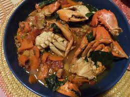 cuisiner le crabe ragoût de crabe à la créole les voyages de gridelle