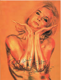 goldfinger best wishes shirley eaton played jill masterson in goldfinger 1964 to james bond 007