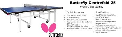 wheels world play table amazon com butterfly centrefold 25 rollaway table tennis table