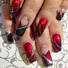 420 best nail art images on pinterest make up red nails and