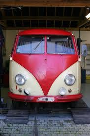 volkswagen camper pink 1956 vw microbus deluxe thornley kelham