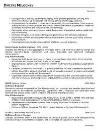embedded engineer resume sle 28 images sle resume for computer