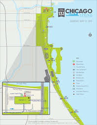 Chicago Race Map by Chicago Spring Half Marathon Erin U0027s Inside Job