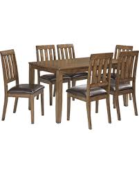 Ashley Dining Room Table And Chairs by Bargains On Puluxy Dining Room Table And Chairs Set Of 7 By