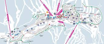 The Villages Map Village Map Sun Peaks Resort