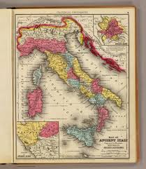 Maps Italy by Ancient Italy David Rumsey Historical Map Collection